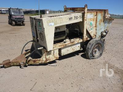 SCHWING WP750-15X Trailer Mounted concrete pump from United Kingdom