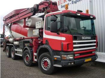 Scania Putzmeister  M 24/8m3 - concrete pump