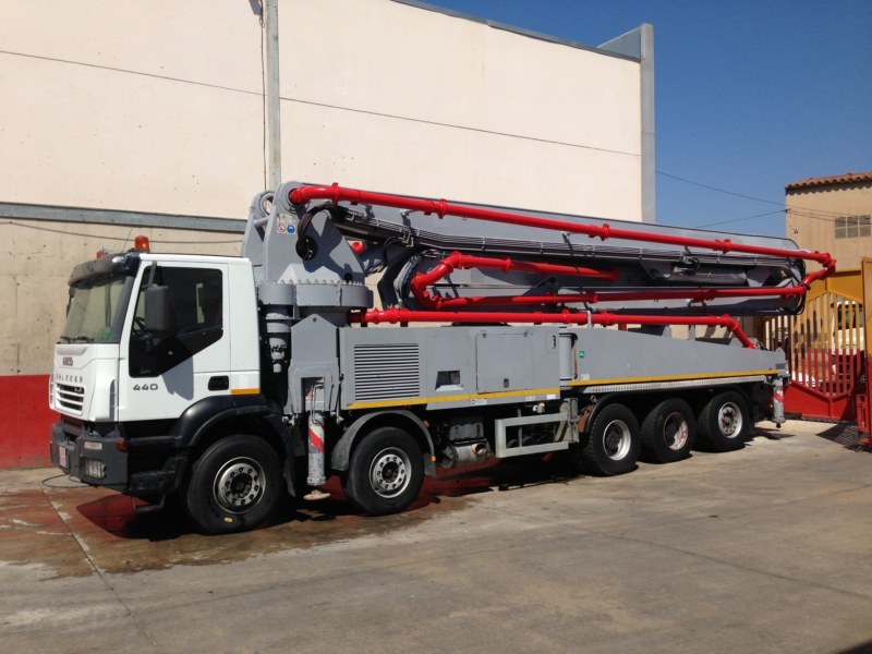 Sermac 53 M Concrete Pump From Spain For Sale At Truck1