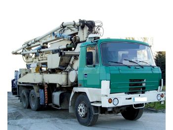 Tatra 815 betonpumpa ELBA - concrete pump