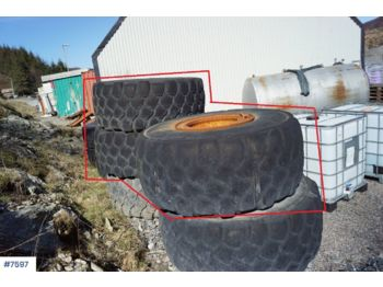 Construction equipment 3 Pcs used Michelin tires for dumpers