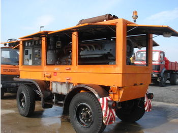 AEG Stromaggregat 185KVA 12Zylin. Deutz 1347BtSd - construction equipment