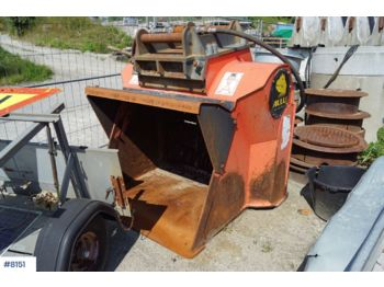 Allu DN 3-12 Solle bucket with extra teeth. - construction equipment