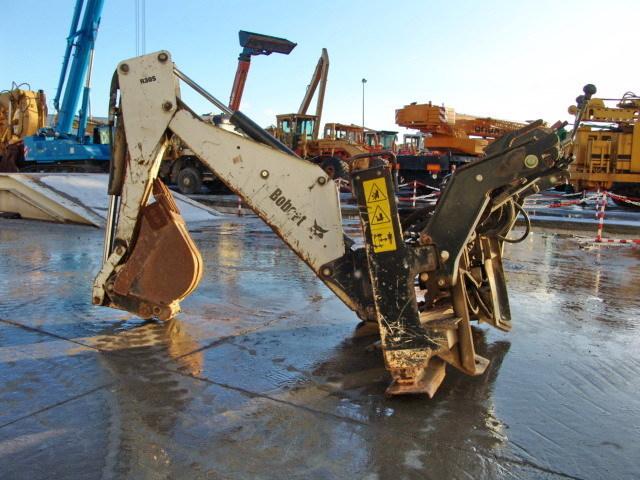 Bobcat R30s Backhoe Construction Equipment From