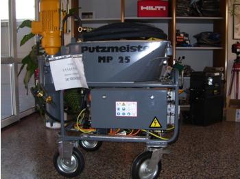 PUTZMEISTER MP 25 - construction equipment