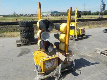 Pallet of Traffic Lights (2 of) - construction equipment
