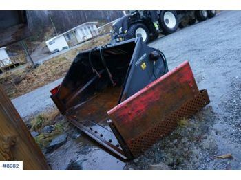 Construction equipment Siljum Wing bucket 3.3 meters wide. Barely used: picture 1