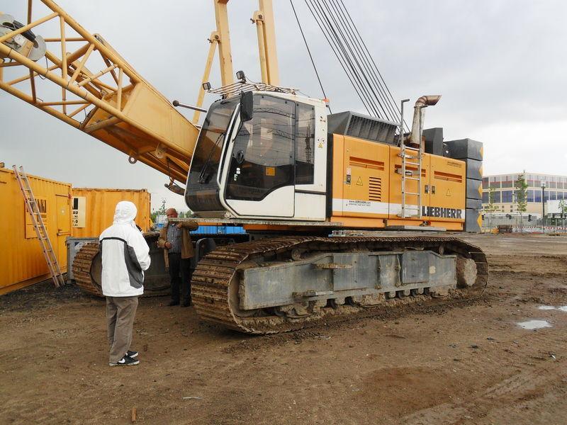 Crawler crane LIEBHERR HS855HD - Truck1 ID: 1876305
