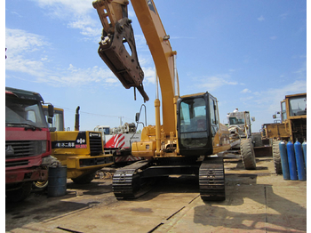 Caterpillar 330F LRE crawler excavator from Germany for sale