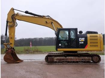 CAT 323E (Nice machine!)  - crawler excavator