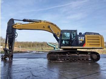 Crawler excavator CAT 336E LH Hybrid / Dutch machine: picture 1