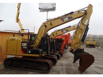 Crawler excavator Caterpillar 312 E