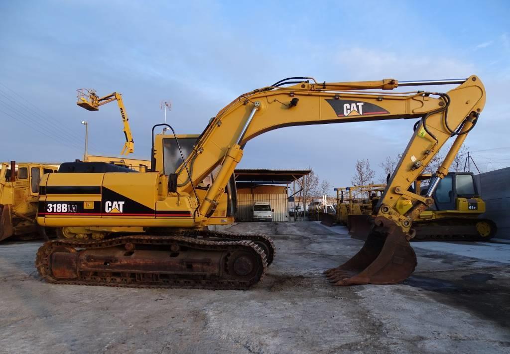 crawler excavator Caterpillar 318 B LN