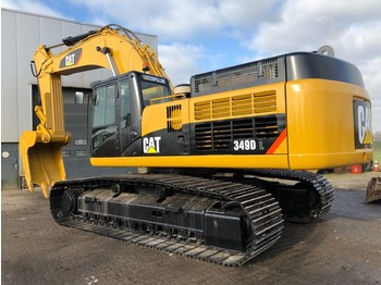 Crawler excavator Caterpillar 349DL
