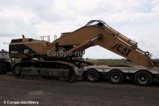 Caterpillar 375 ME crawler excavator from Spain for sale at Truck1