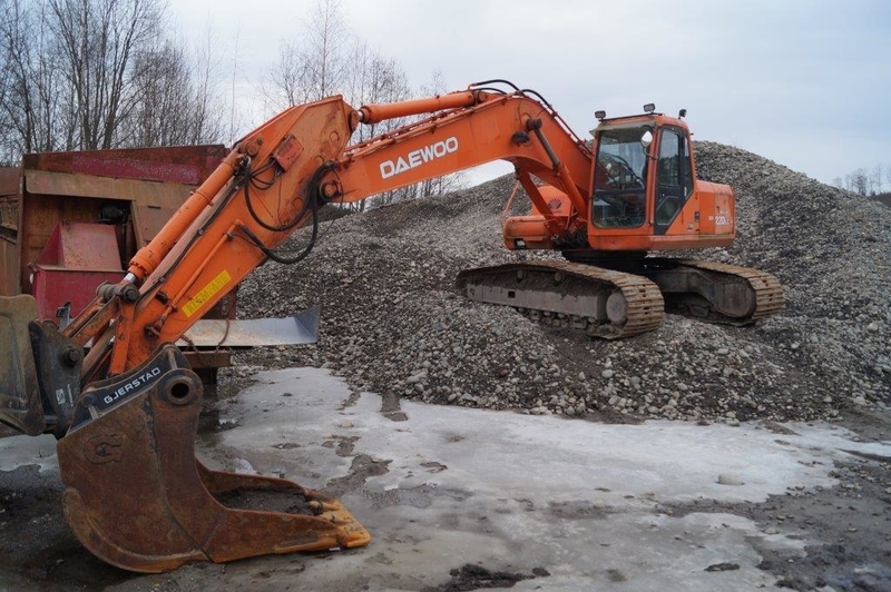 Daewoo 220 LC-V crawler excavator from Norway for sale at Truck1, ID