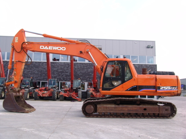 Daewoo 255 LC-V SOLAR crawler excavator from Netherlands for sale at