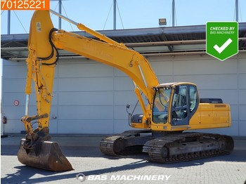 Doosan DX255 LC Dutch machine - all functions - crawler excavator