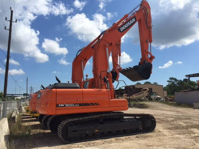 Doosan dx300 lca crawler excavator from germany for sale for Lca construction