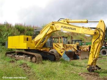 Furukawa 640 LC - crawler excavator