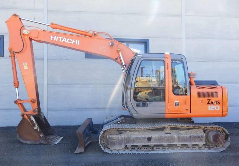 Crawler excavator Hitachi ZX 120 - Truck1 ID: 3082819