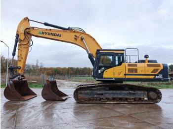 Crawler excavator Hyundai HX380L Full option / dutch machine: picture 1
