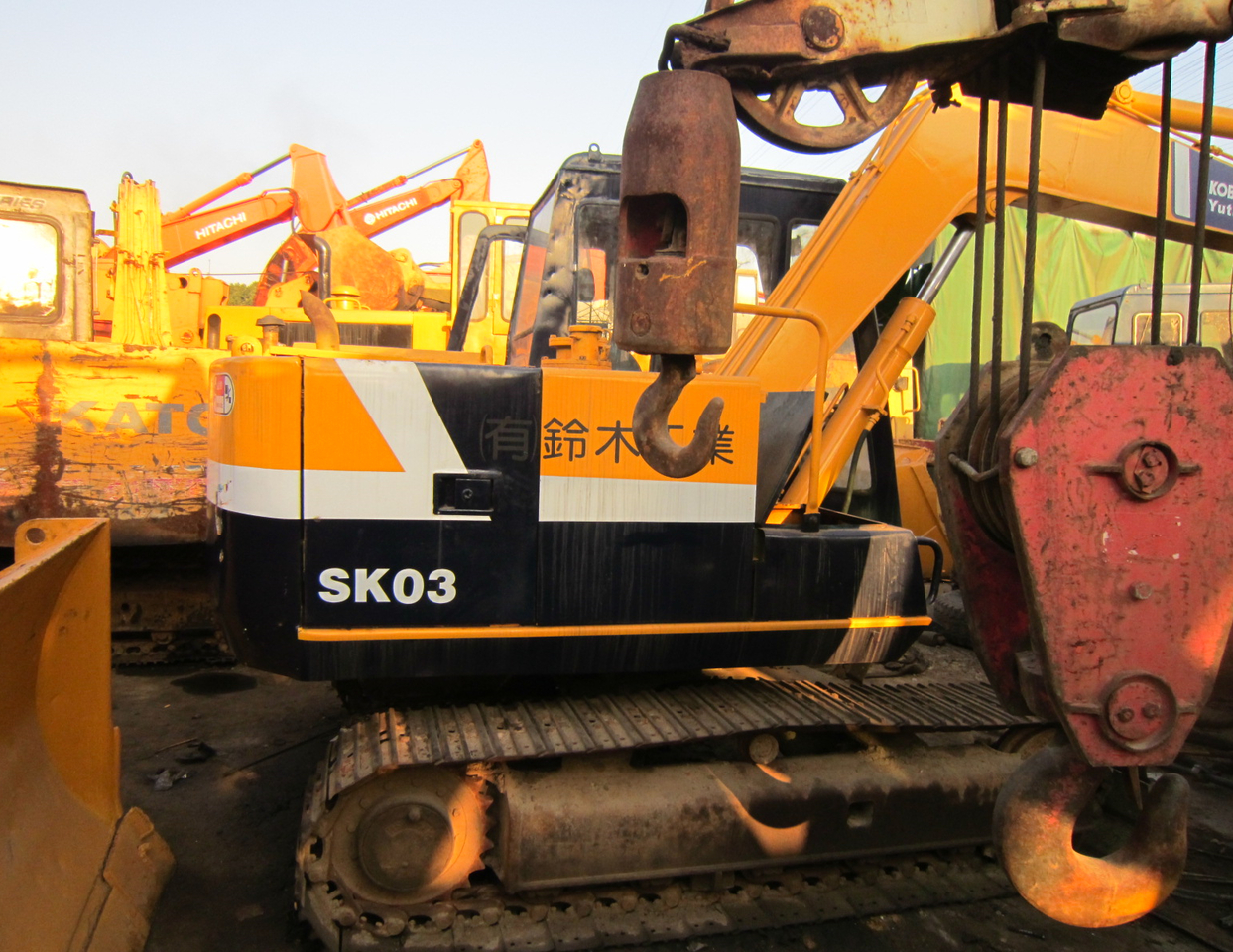 Kobelco Kobelco Sk03 Crawler Excavator From China For Sale At Truck1 Id 3948849