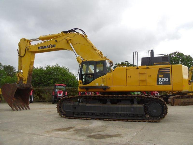 komatsu 800 excavator choice image