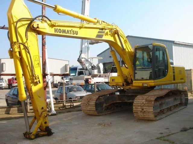 komatsu pc 290 lc 6k tracked excavator crawler excavator from rh truck1 eu Komatsu Pc290 Specs 290 Excavator