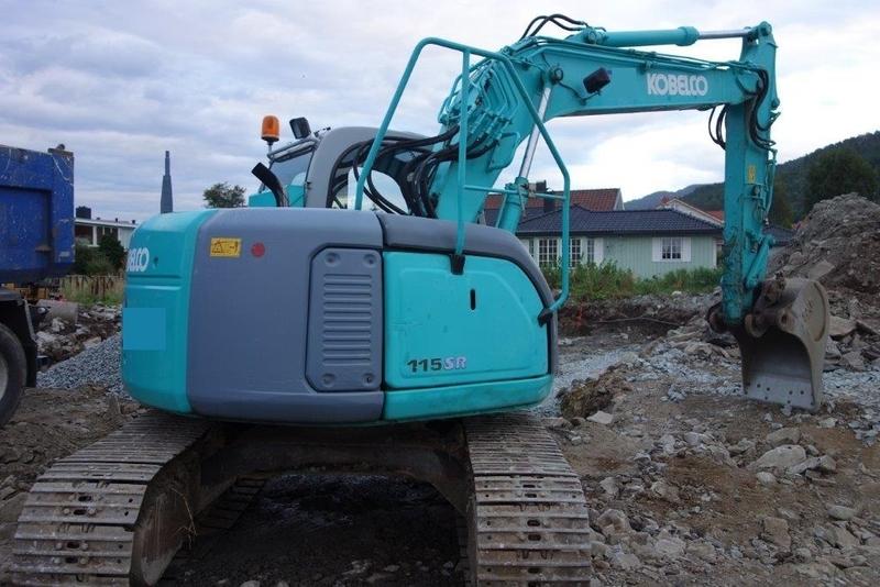 Crawler excavator Kobelco 115 SR - Truck1 ID: 1453635