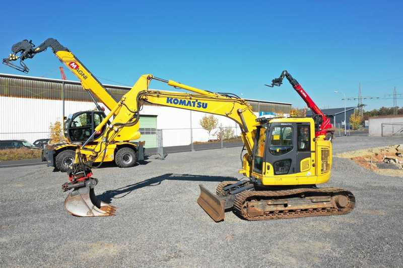 Crawler excavator Komatsu PC 138 US-10 / Rototilt RT 40 B/ Planierschild -  Truck1 ID: 3283652