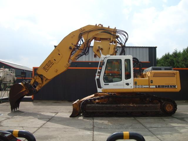 Crawler excavator LIEBHERR R932T Tunneling excavator - Truck1 ID: 2572441