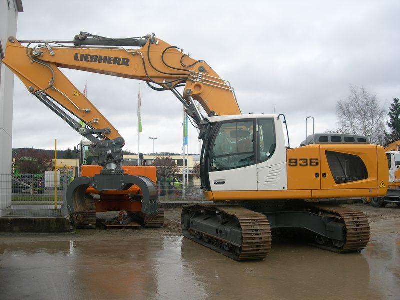 Liebherr R 936 Nlc Litronic Crawler Excavator From Germany