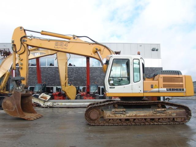 Liebherr R924b Hdsl Crawler Excavator From Netherlands For