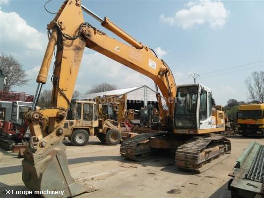 Liebherr R 922 Hdsl Crawler Excavator From Belgium For