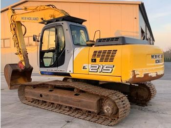 NEW HOLLAND E215 - crawler excavator