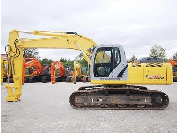 NEW HOLLAND E215B - crawler excavator
