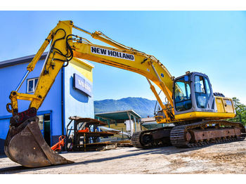 NEW HOLLAND E215 B - crawler excavator