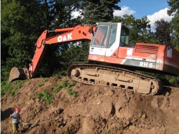 O&K Orenstein RH6-22 LC, RH 6-22 LC Kettenbagger / Excavator, MONO-Boom, Bucket, Schnellwechsler, Hammer Line, 24 t, GERMAN, 9.500 h, Year 1998 - crawler excavator