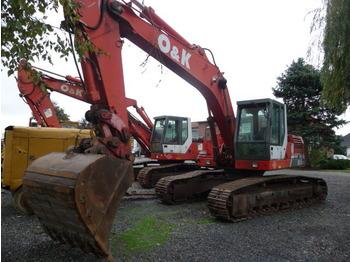 O&K Orenstein RH6-22, RH 6-22 Kettenbagger / Excavator, MONO-Boom, Bucket, Schnellwechsler, Hammer Line, 24 t, GERMAN, 9.500 h, Year 1998 - crawler excavator