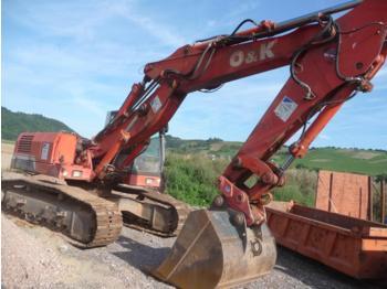 O&K Orenstein RH8 LC, RH 8 LC Kettenbagger / Excavator, U/C 65 %, Verstell-Ausleger, Hammer Line, Bucket, Schnellwechsler, Hammer Line, GERMAN, 28 t, 9.700 h, Year 1999 - crawler excavator