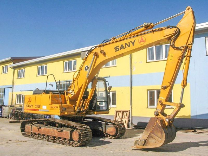 SANY SY 210 C crawler excavator from Slovenia for sale at