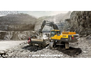 Crawler excavator Volvo EC350D NEW Unused CE machine - coming soon