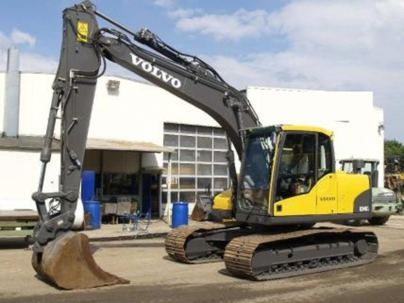 Volvo Ec 140 Cl Crawler Excavator From Norway For Sale At