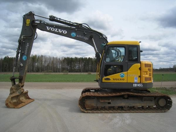 volvo ec 145 cl crawler excavator from finland for sale at