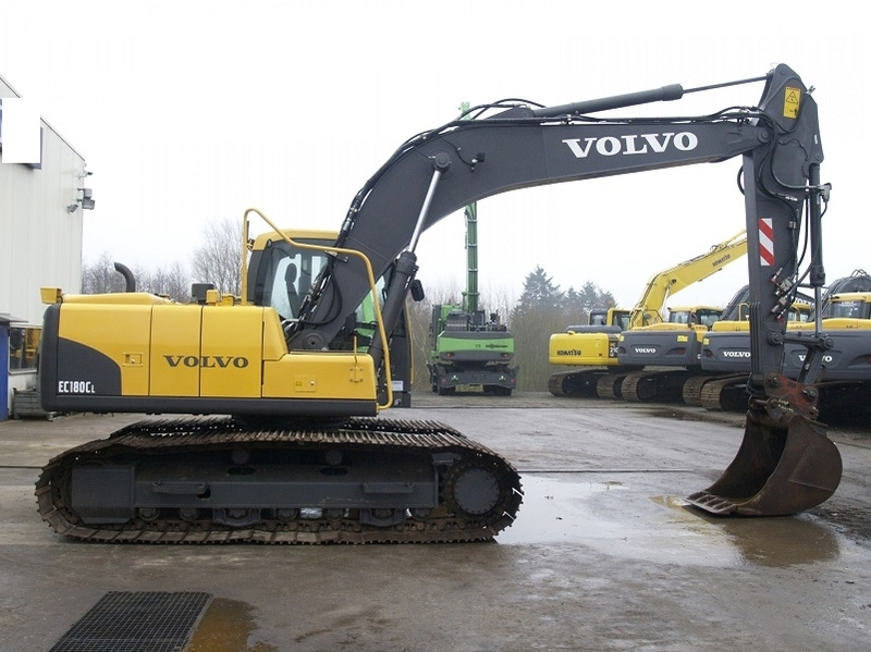 Volvo Ec 180 Cl Crawler Excavator From Norway For Sale At