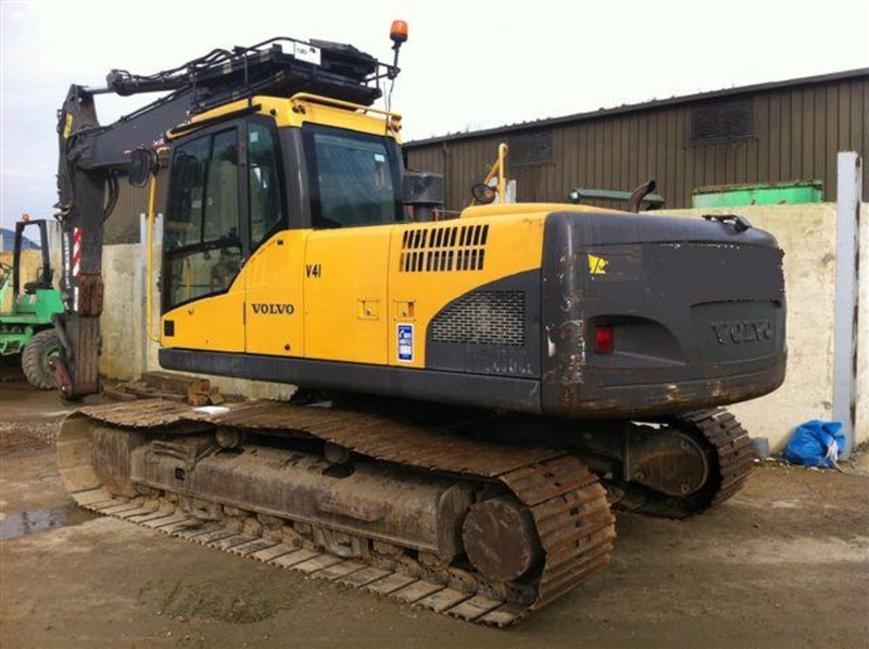 Volvo Ec 210 Cl Crawler Excavator From Norway For Sale At