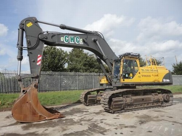 Volvo Ec 700 Crawler Excavator From United Kingdom For