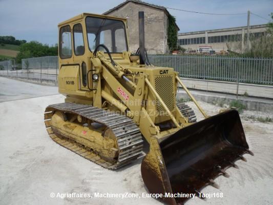 Crawler loader Caterpillar 931 - Truck1 ID: 813037