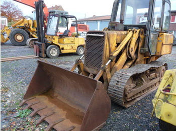 JOHN-DEERE 555-A Laderaupe / Crawler Loader, U/C 30 %, 100 % working, GERMAN, 7.000 h, Year 1978 - crawler loader